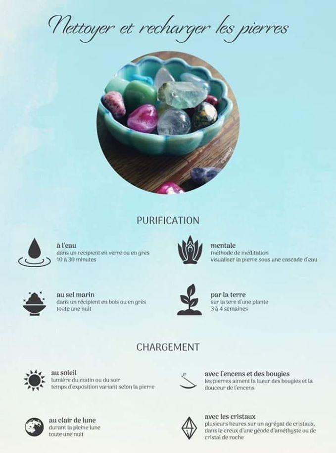 lithotherapie-Nettoyer et recharger les pierres-les sens de nelumbo